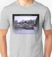 Virgin Snow Christmas and New Year Card T-Shirt