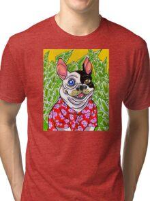 Travelling Tron Tri-blend T-Shirt