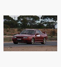 Oz Gymkhana #35 R32 Nissan Skyline GTR Photographic Print