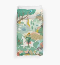 The Land of Enchantment Duvet Cover