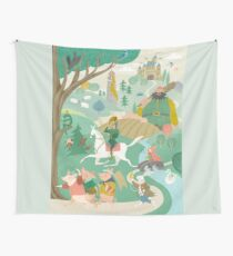 The Land of Enchantment Wall Tapestry