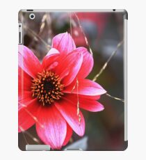 The Pink Red Flower iPad Case/Skin