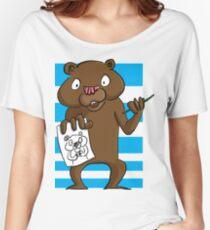 An artist bear Women's Relaxed Fit T-Shirt