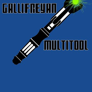 Dr Who - Gallifreyan MultiTool by appfoto