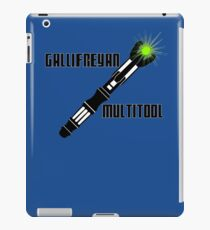 Dr Who - Gallifreyan MultiTool iPad Case/Skin