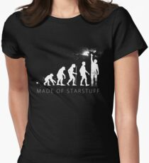We are made of star stuff Women's Fitted T-Shirt