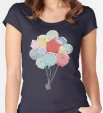 Balloon Animals Women's Fitted Scoop T-Shirt