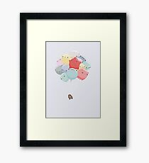 Balloon Animals Framed Print