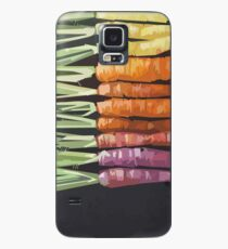 Color Carrots Case/Skin for Samsung Galaxy