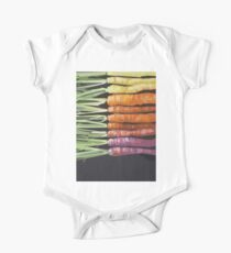 Color Carrots One Piece - Short Sleeve
