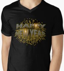 Happy New Year Unique Gold Fireworks New Years Eve T-Shirt T-Shirt