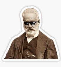 Thug Victor Hugo Sticker