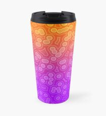 Punch Cocktail - Orange Purple Fade Travel Mug