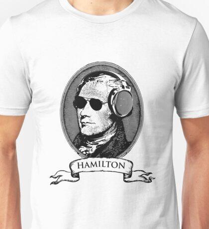 Alexander Hamilton TShirt Headphones and Sunglasses Unisex T-Shirt