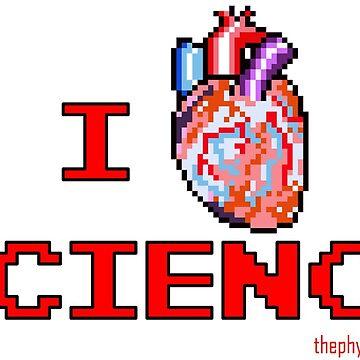 I HEART SCIENCE! by JohnnyCarotid