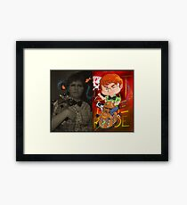 Chibi myself Framed Print