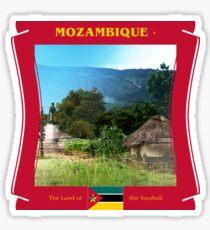 Mosambik - Das Land der Swahali Sticker