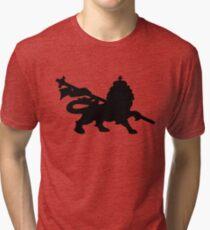 rasta lion judah dub Tri-blend T-Shirt