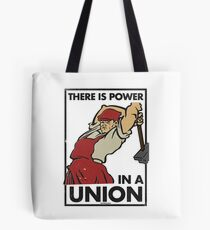 There Is Power in a Union (Vector Recreation) Tote Bag