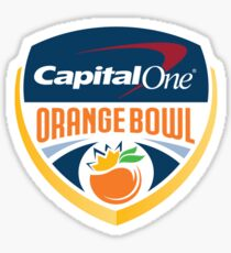 Capital One Orange Bowl Sticker