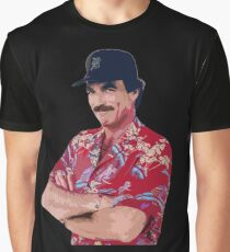 Magnum PI Graphic T-Shirt