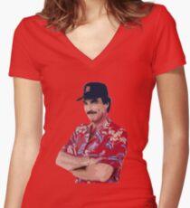 Magnum PI Women's Fitted V-Neck T-Shirt