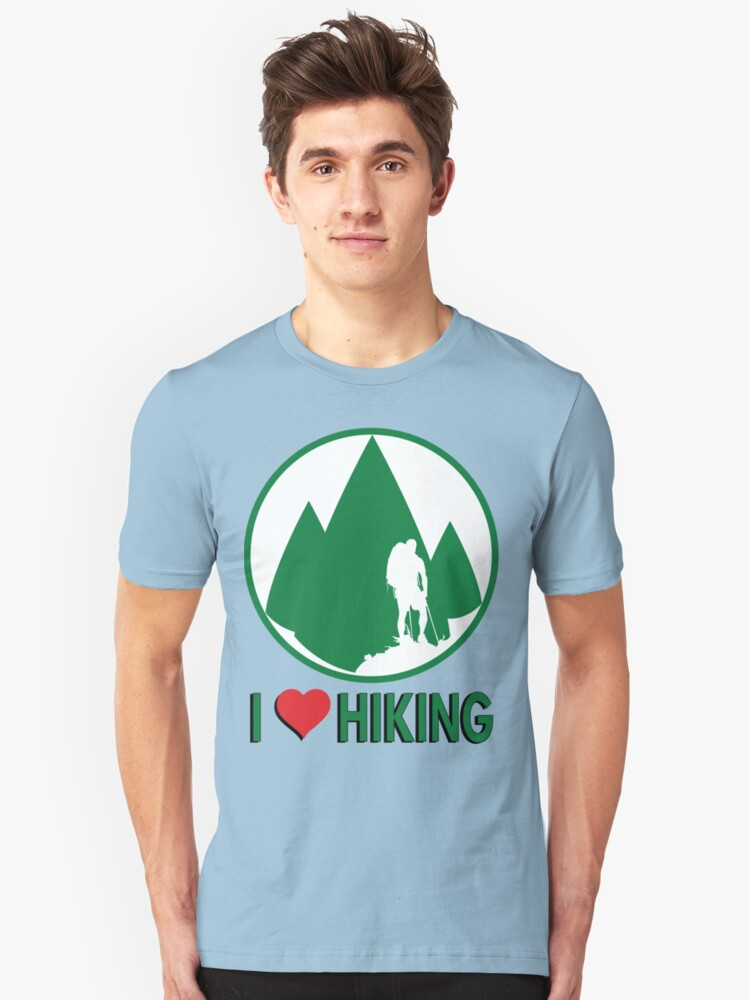 I Love Hiking by Rich Anderson