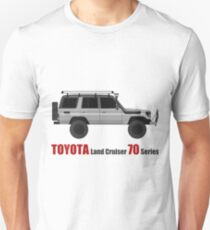 TOYOTA Land Cruiser 70 Series HZJ77 (Custom)  (machito) T-Shirt