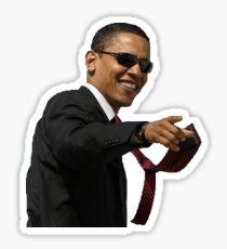 Cool Guy Obama Sticker