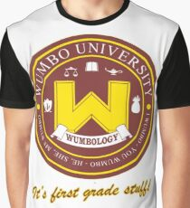 Wumbology Univiversity Graphic T-Shirt