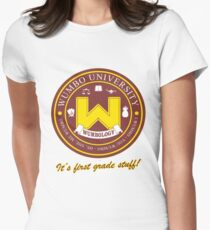 Wumbology Univiversity Women's Fitted T-Shirt
