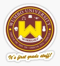 Wumbology Univiversity Sticker