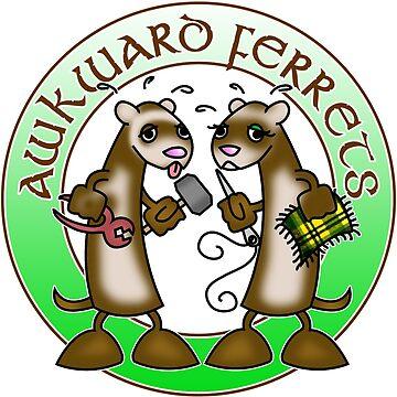 Awkward Ferrets! by sederick