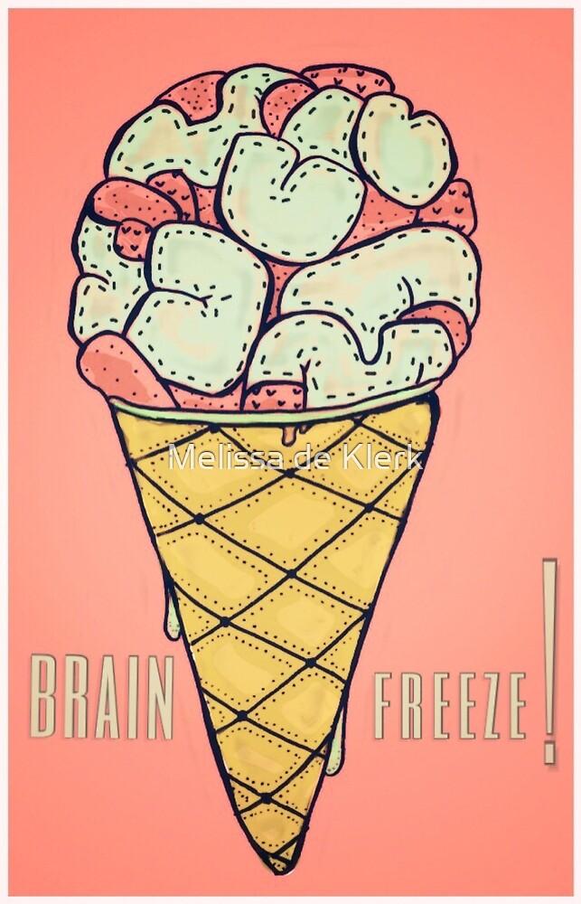 Brain Freeze by Melissa de Klerk
