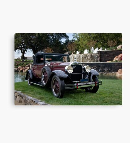 1928 Packard 526 Convertible Coupe I Canvas Print