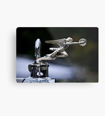 1928 Packard 526 Convertible Coupe Hood Ornament Metal Print