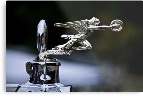 1928 Packard 526 Convertible Coupe Hood Ornament by DaveKoontz