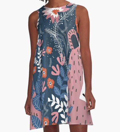 Bear Garden A-Line Dress