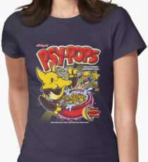 Psy-Pops Womens Fitted T-Shirt