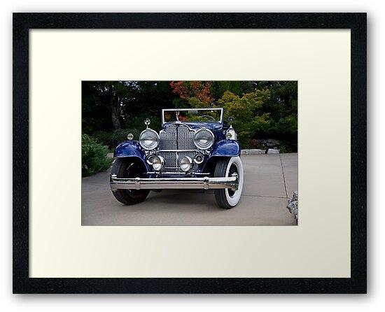 1932 Packard Victoria Convertible III by DaveKoontz