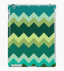 Green Zigzag Pattern iPad Case/Skin