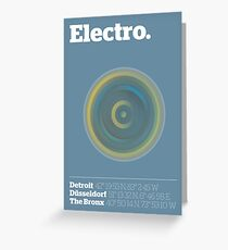 Electro Greeting Card