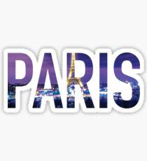 Paris Sticker Sticker