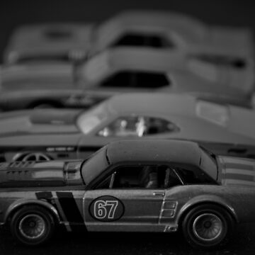 Muscle cars by pacoce1