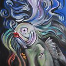 Lady Gaga As A Fish by Ellen Marcus