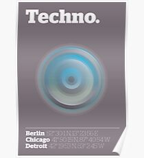 Techno Poster