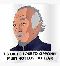 MR. MIYAGI Poster