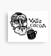 Vato Cocoa Canvas Print