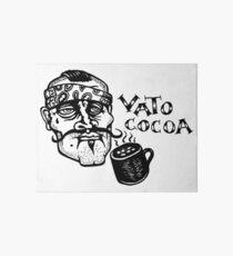 Vato Cocoa Art Board Print