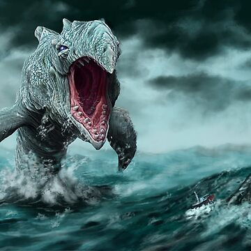Lurker of the Deep by HeribertoM
